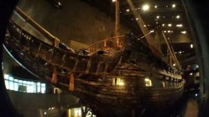 корабль 17 века в Стокгольме Васа