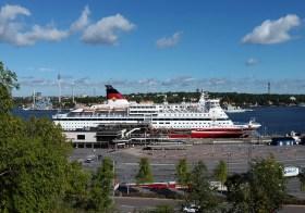 Порт Викинг лайн в Стокгольме