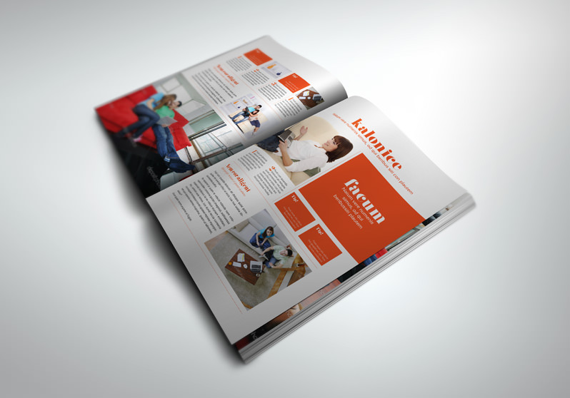 FREE InDesign PRO Magazine Template Kalonice - free indesign template