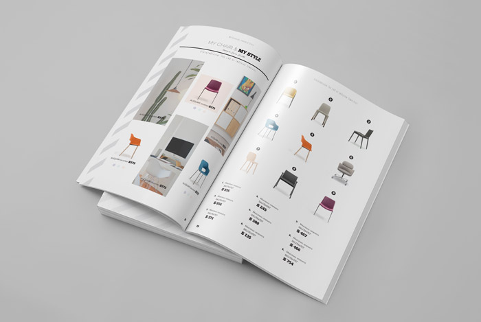 Product Catalog Template Adobe InDesign Templates