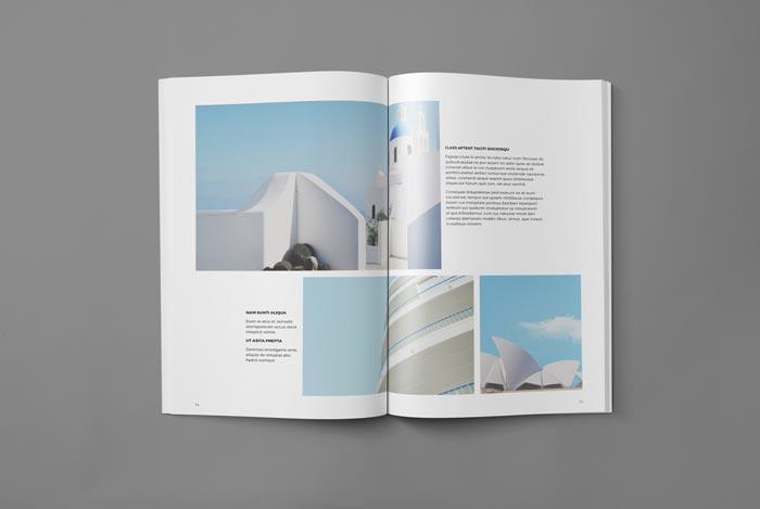 Portfolio Booklet Template for Designers Adobe InDesign Templates - booklet template