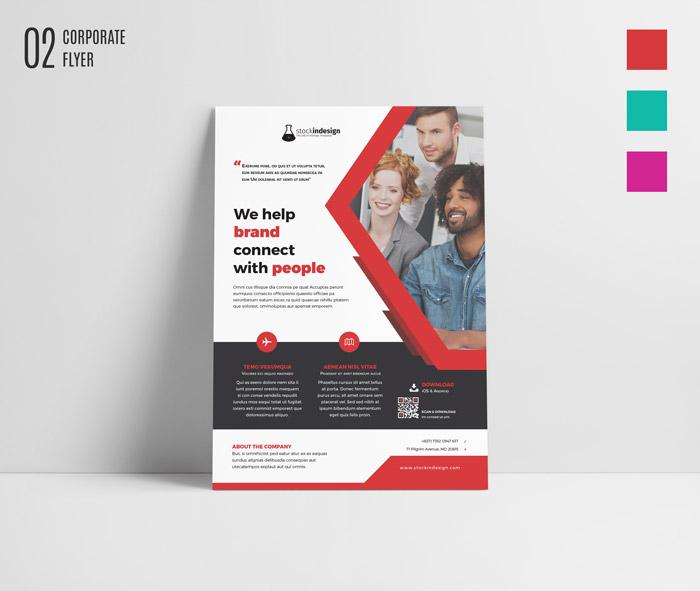 FREE InDesign Bundle 10 Corporate Flyer Templates StockInDesign