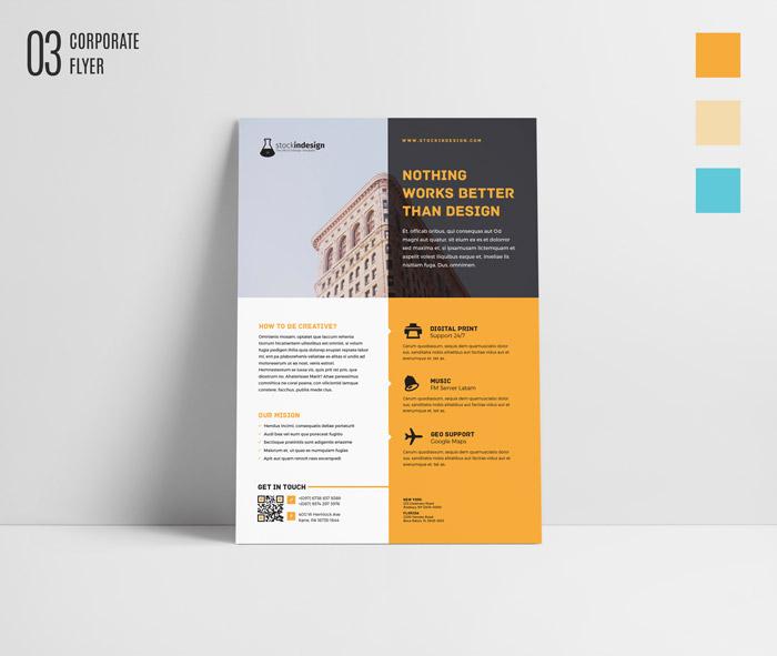 FREE InDesign Bundle 10 Corporate Flyer Templates StockInDesign - design a flyer free