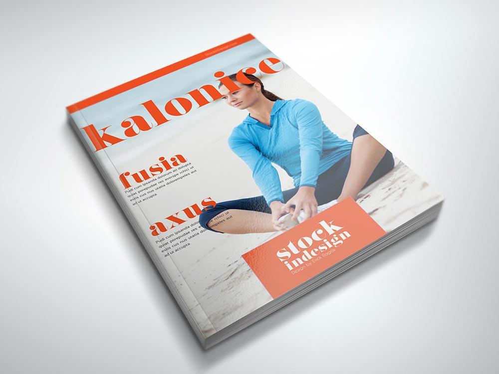 FREE InDesign PRO Magazine Template Kalonice - free indesign template