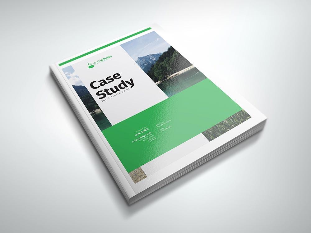 Case Study Template StockInDesign - study template
