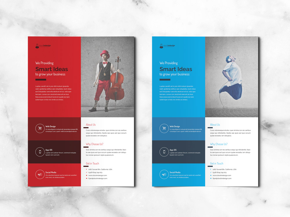 FREE Corporate Flyer FREE InDesign Templates for Designers - free indesign template