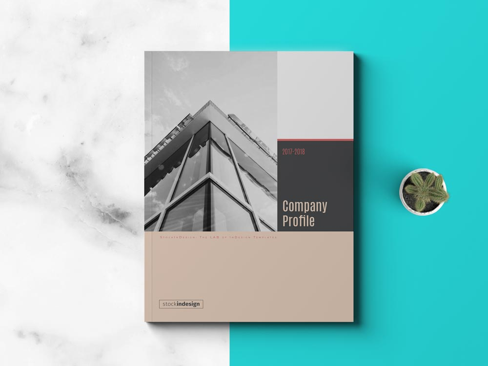 Company Profile Template Adobe InDesign Templates - profile company template
