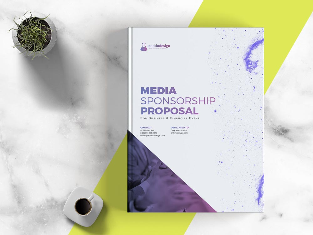 Sponsorship Proposal Adobe InDesign Template for Designers