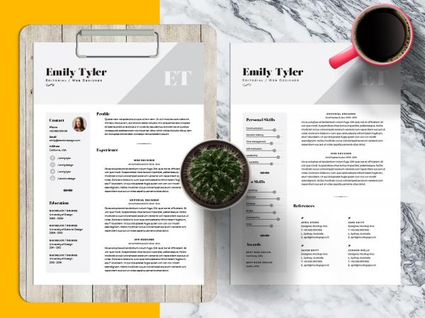 Resume Templates - resume template indesign