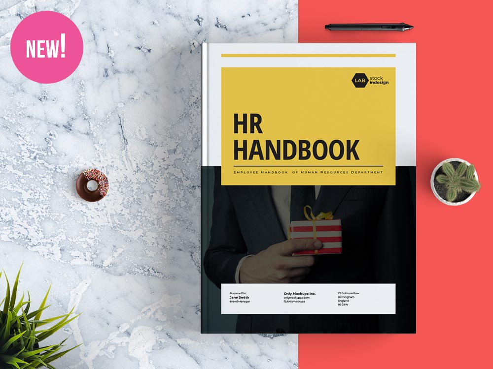 Employee Handbook Template StockInDesign - handbook template