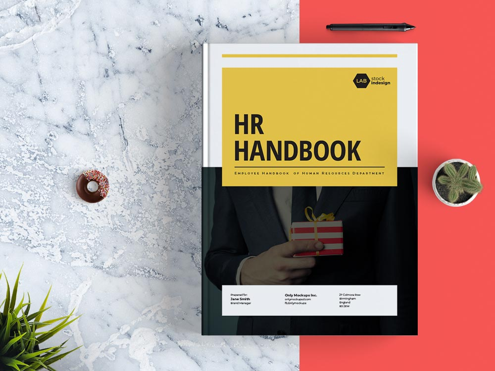 Employee Handbook Template StockInDesign