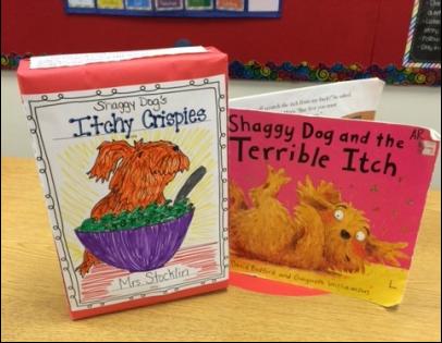 Cereal Box Book Report Mrs Stocklin39s 2nd Grade Class