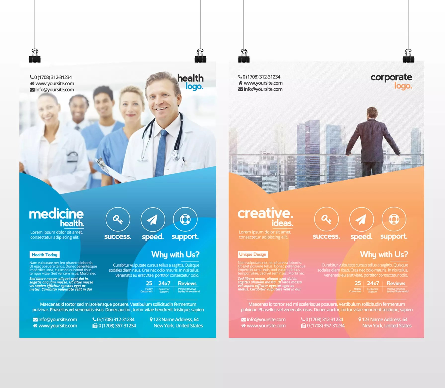 Flyer Ideas Business And Medicine Health Free Psd Flyer Template To Download