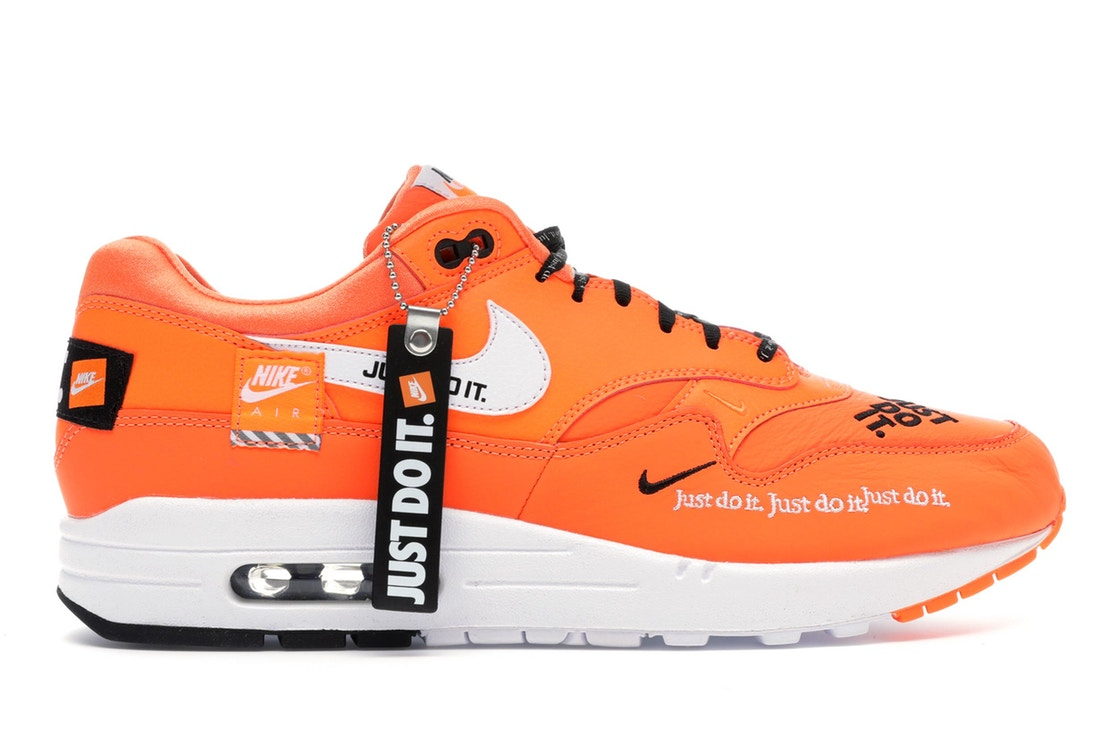 Nike Do Air Max 1 Just Do It Pack Orange