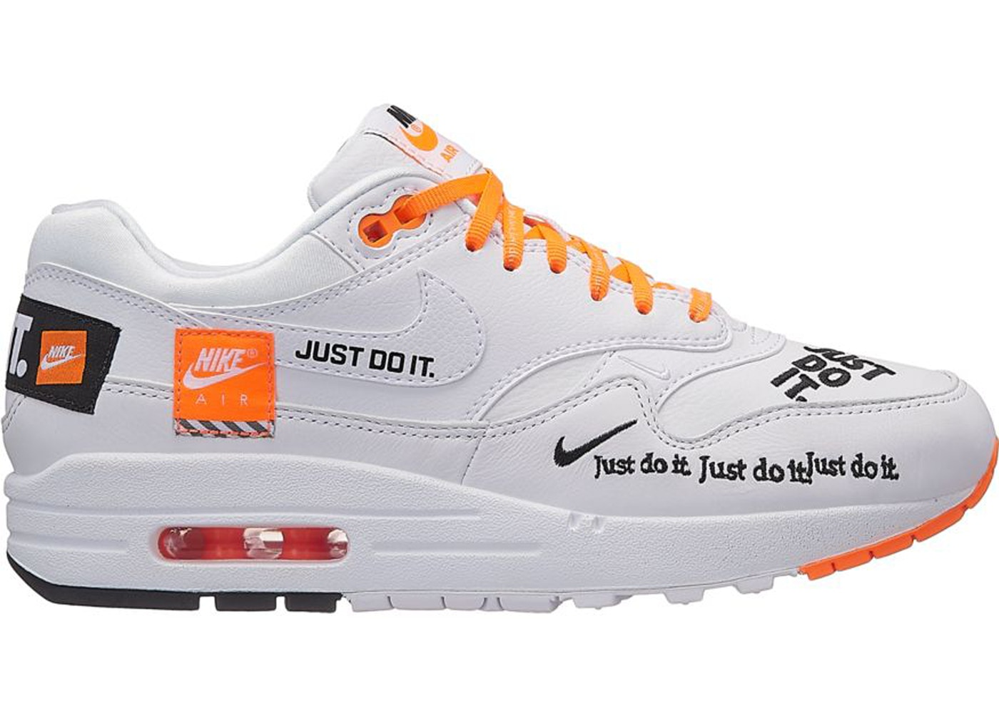 Nike Do Air Max 1 Just Do It Pack White