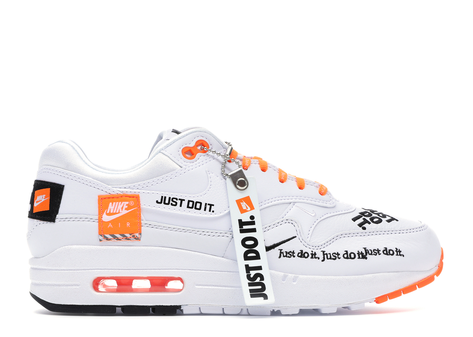 Nike Do Air Max 1 Just Do It White W