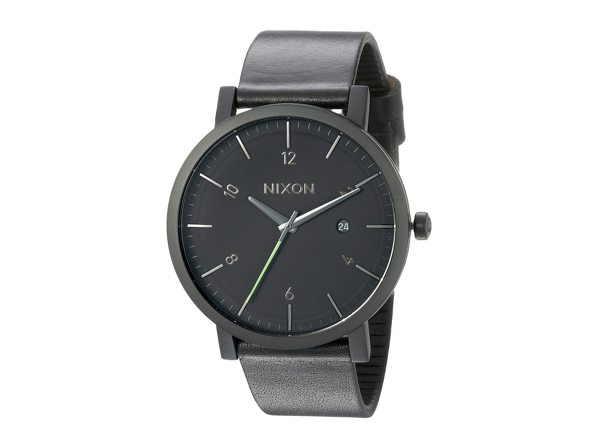 Rollo 24 Nixon Rollo Watch All Black A945 001 42mm