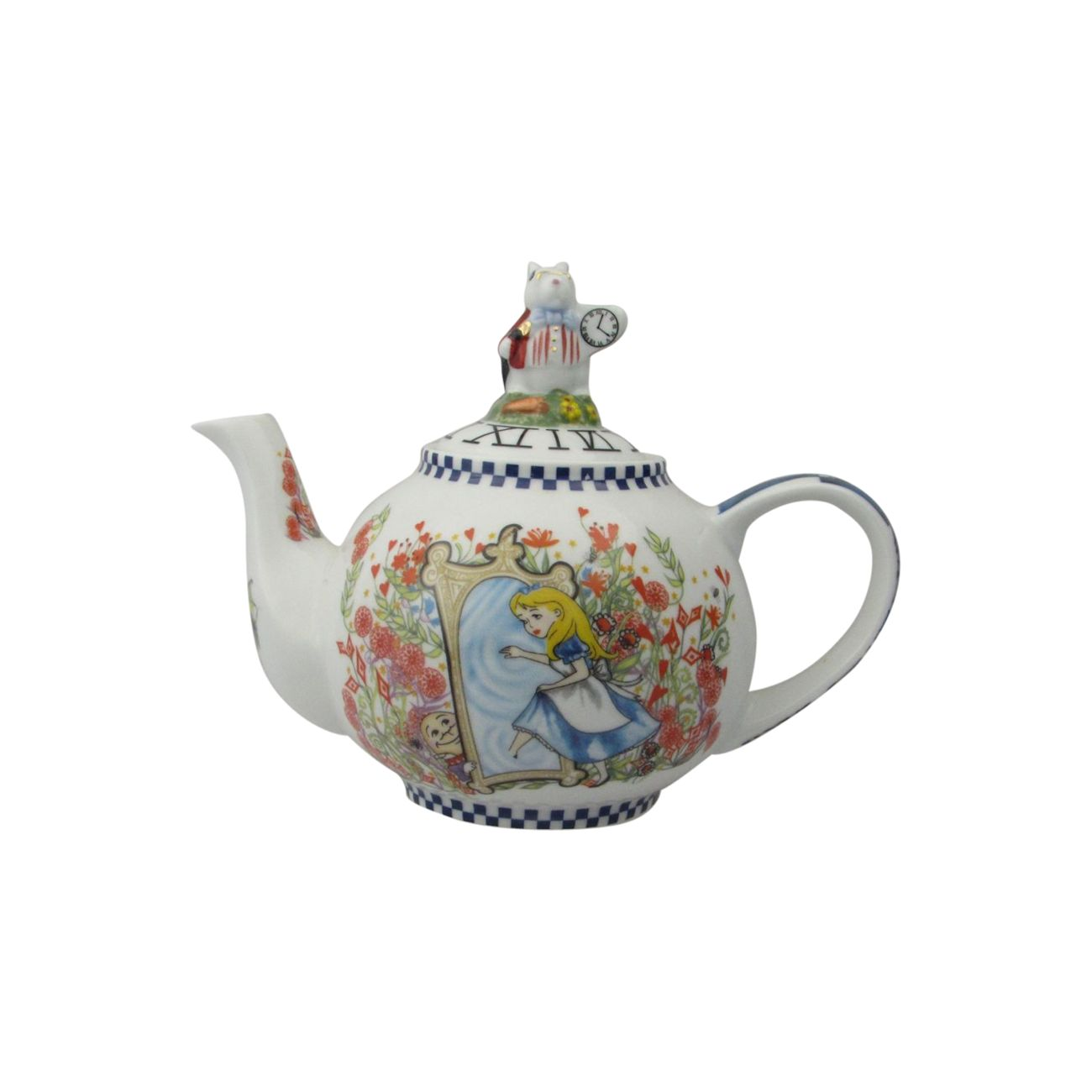 Looking For Teapots Alice Through The Looking Glass Two Cup Teapot Paul Cardew