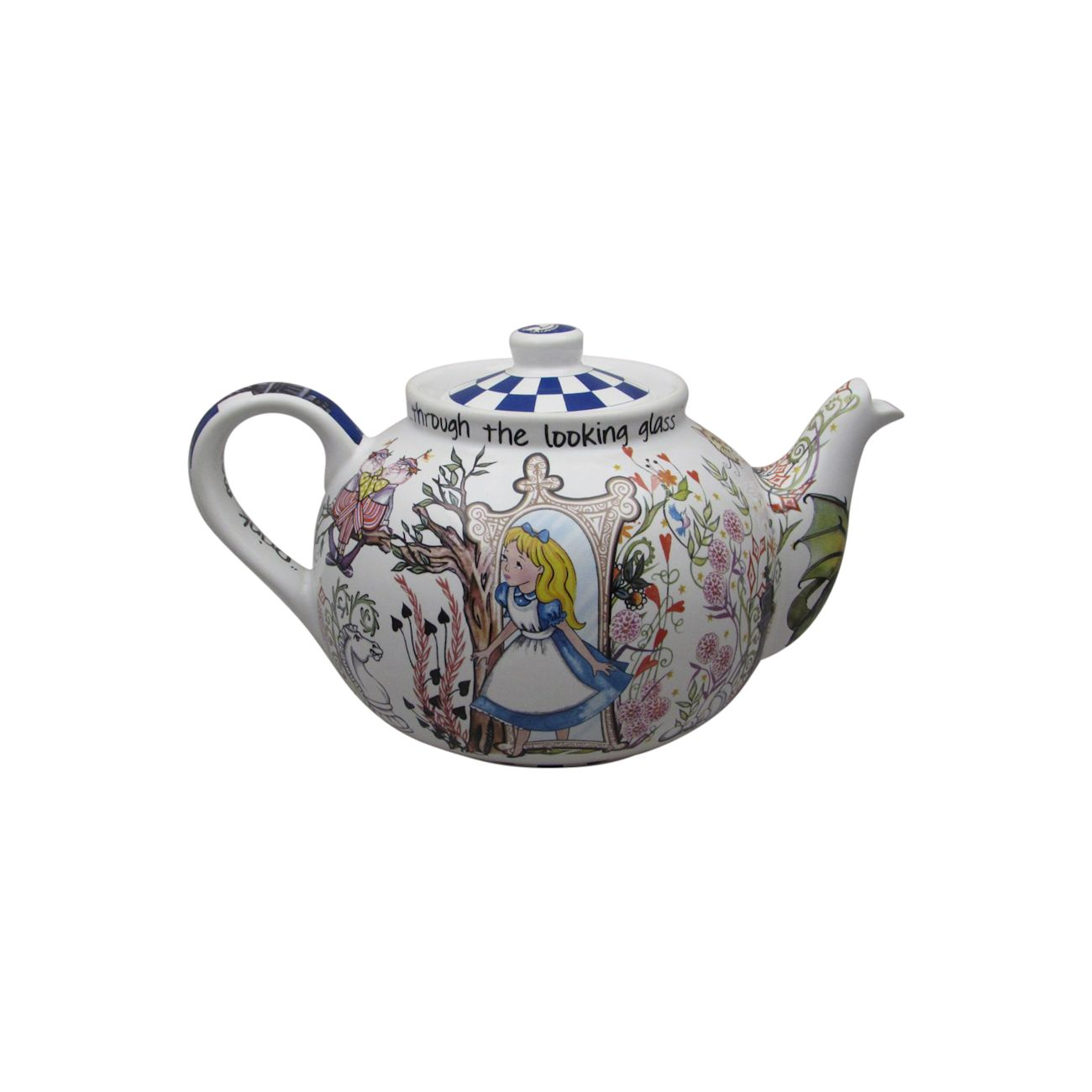 Looking For Teapots Alice Through The Looking Glass Betty Teapot Paul Cardew