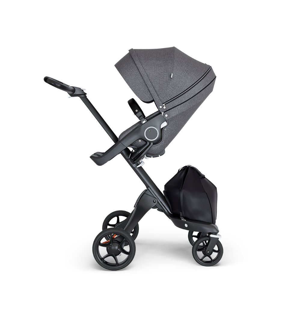 Stokke Stroller Weight Stokke Xplory 6 Black Chassis Black Handle Black Melange