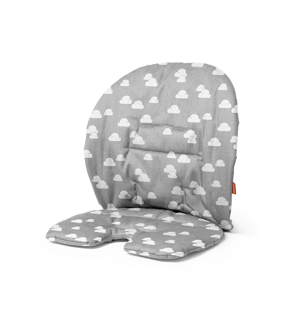 Sedia Stokke Baby Stokke Steps Cuscino Per Baby Set Grey Clouds