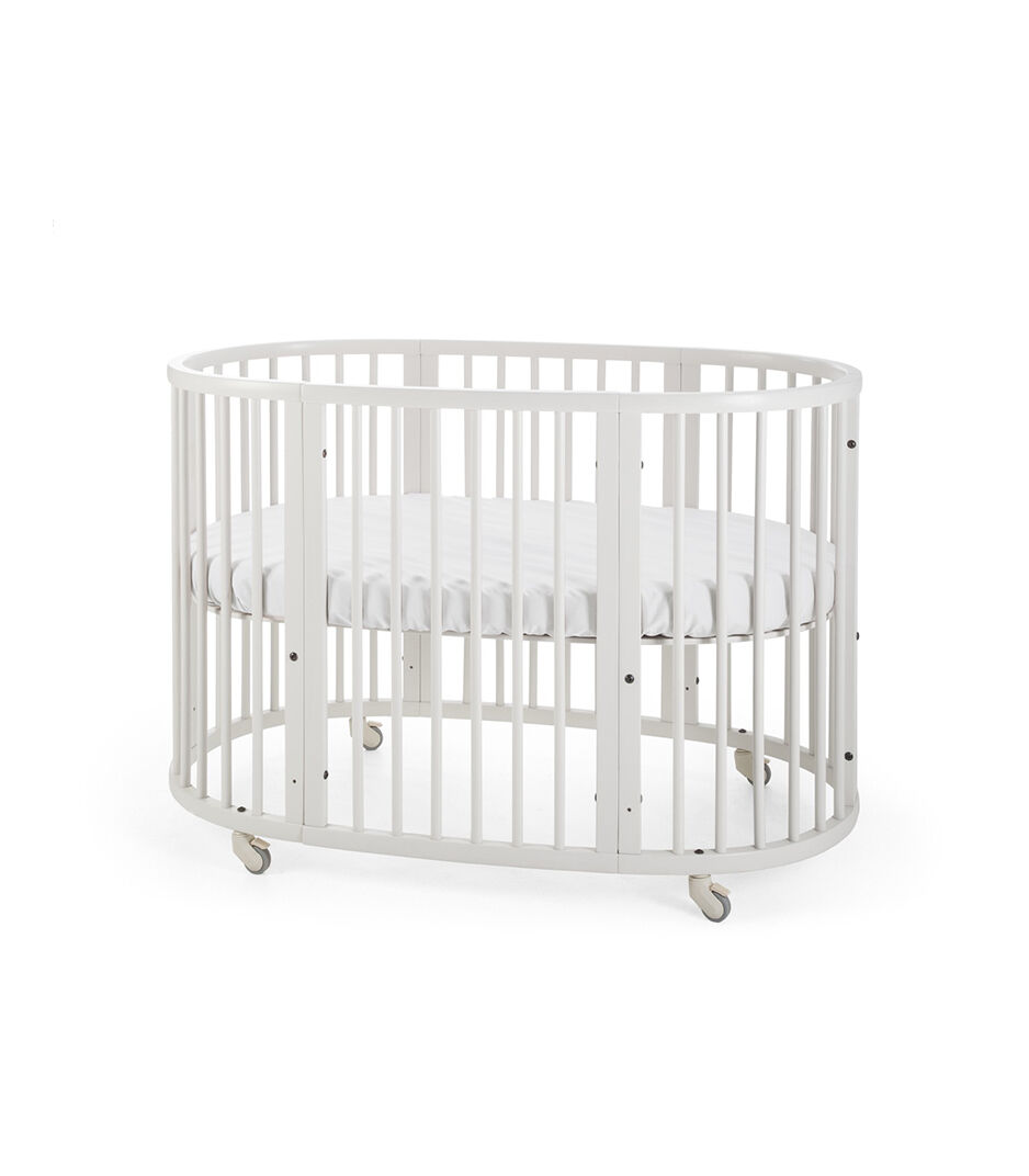 Baby Cots That Attach To Beds Stokke Sleepi Crib Bed White