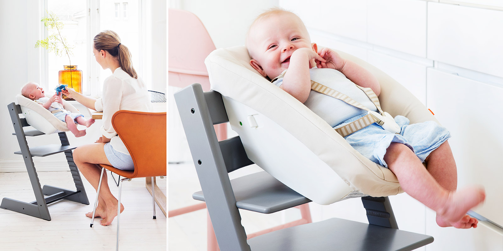 Sedia Stokke Baby Tripp Trapp The Chair That Grows With The Child Now Available