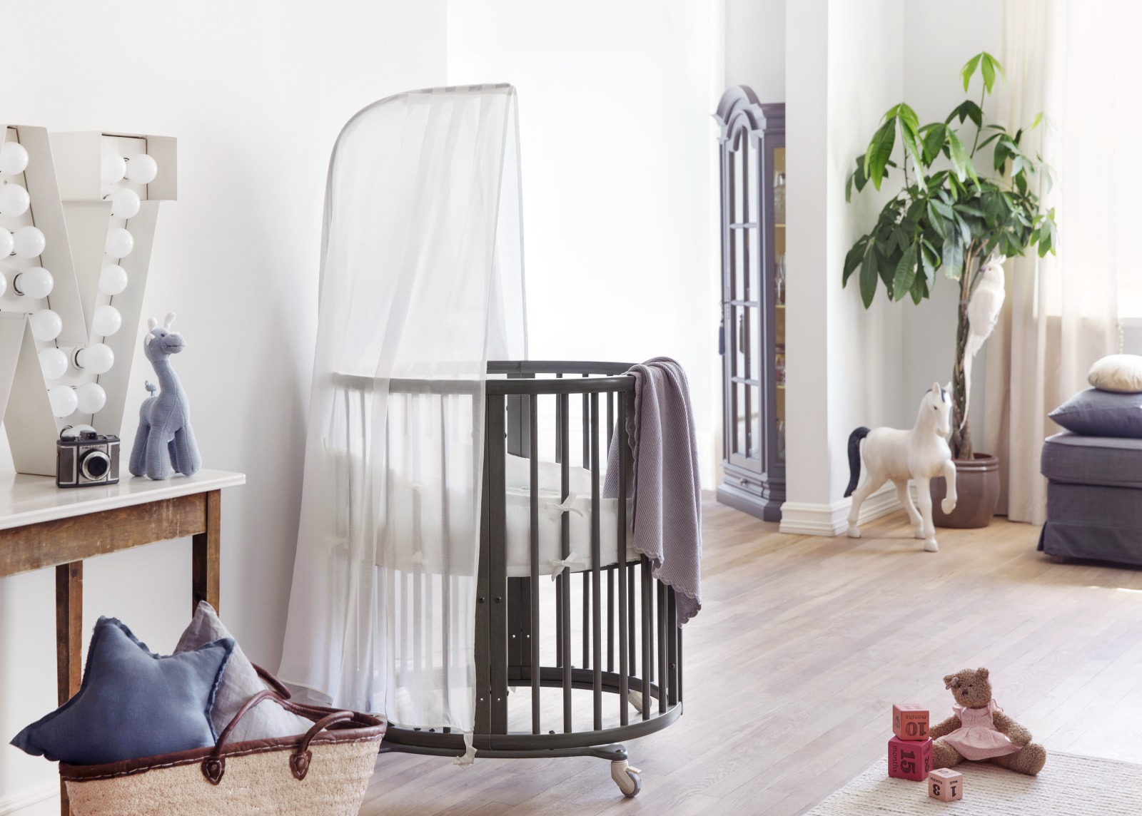 Stokke Wiege Stokke Sleepi Mini Bundle W Matt White