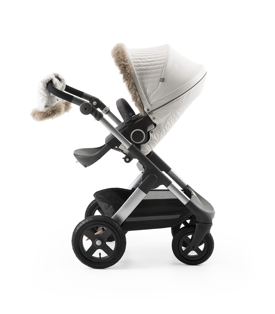 Kinderwagen Stokke Rot Stokke Stroller Winter Kit Pearl White