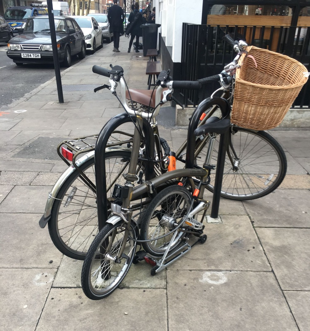 Brompton Bikes Stolen Brompton Bicycle