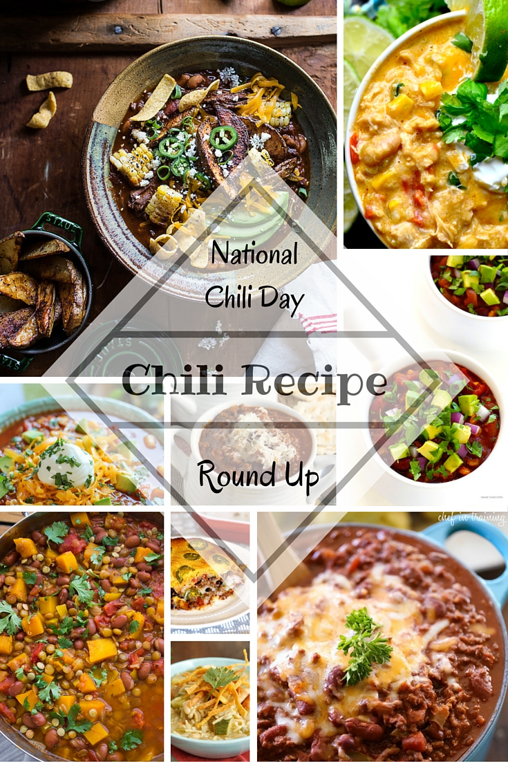 national chili day recipes