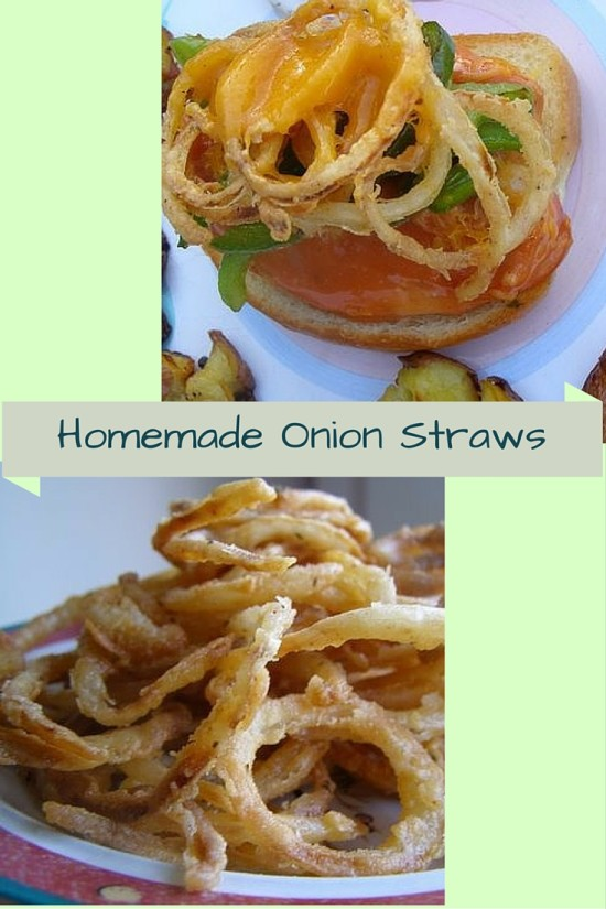 homemade onion straws