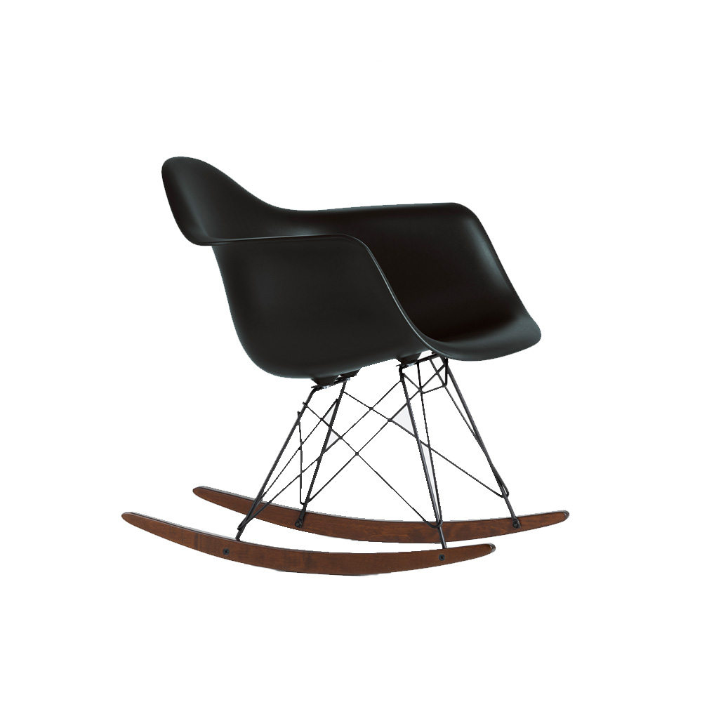 Schaukelstuhl Vitra Rar Black Edition
