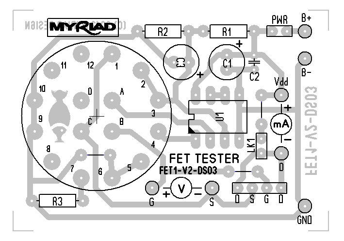 phantom power tester schematic