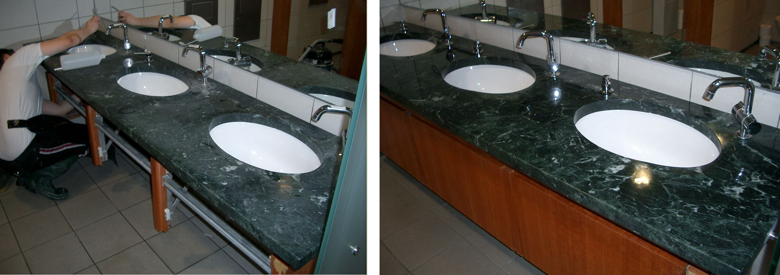 How To Restore Marble Vanity Tops Www Stone Repairs Com