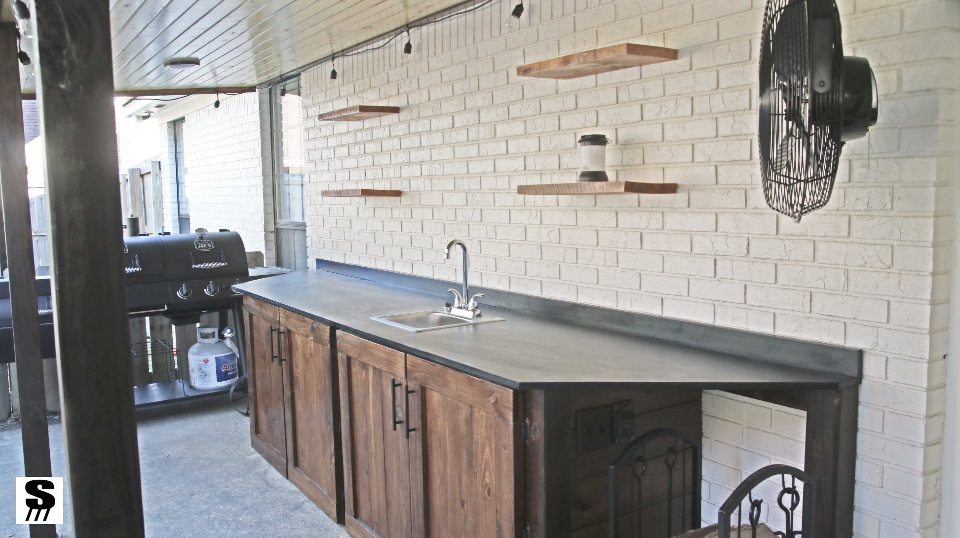 Building Kitchen Cabinets Video Diy Outdoor Kitchen By Stone And Sons Workshop