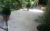 Limestone Patio Cleaning and Sealing | Austin TX