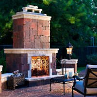 Fireplaces, Fire Pits, and Bake Ovens | Stone Center of ...