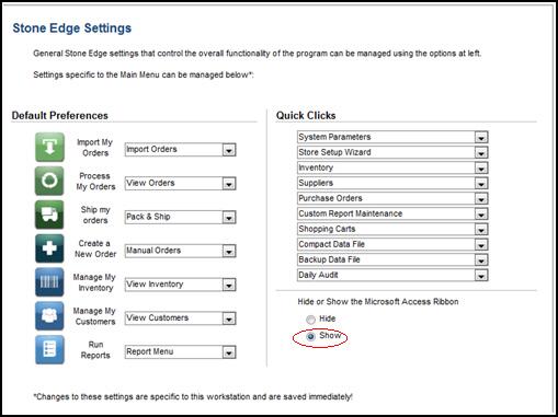 Report-Specific Printer Settings