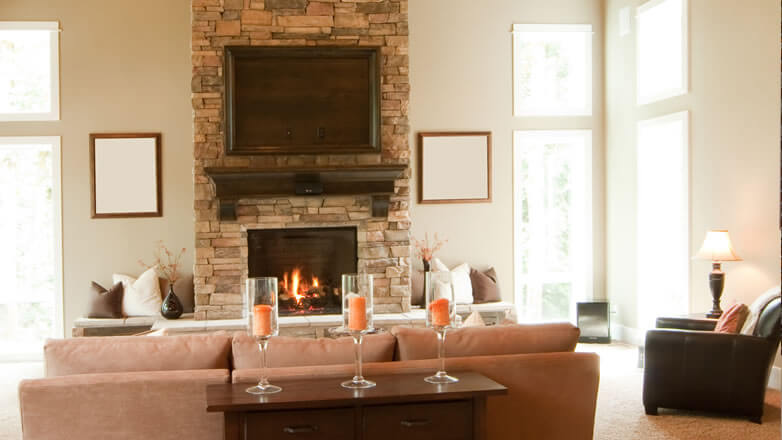 Stone For Fireplace Stone Fireplace Ideas