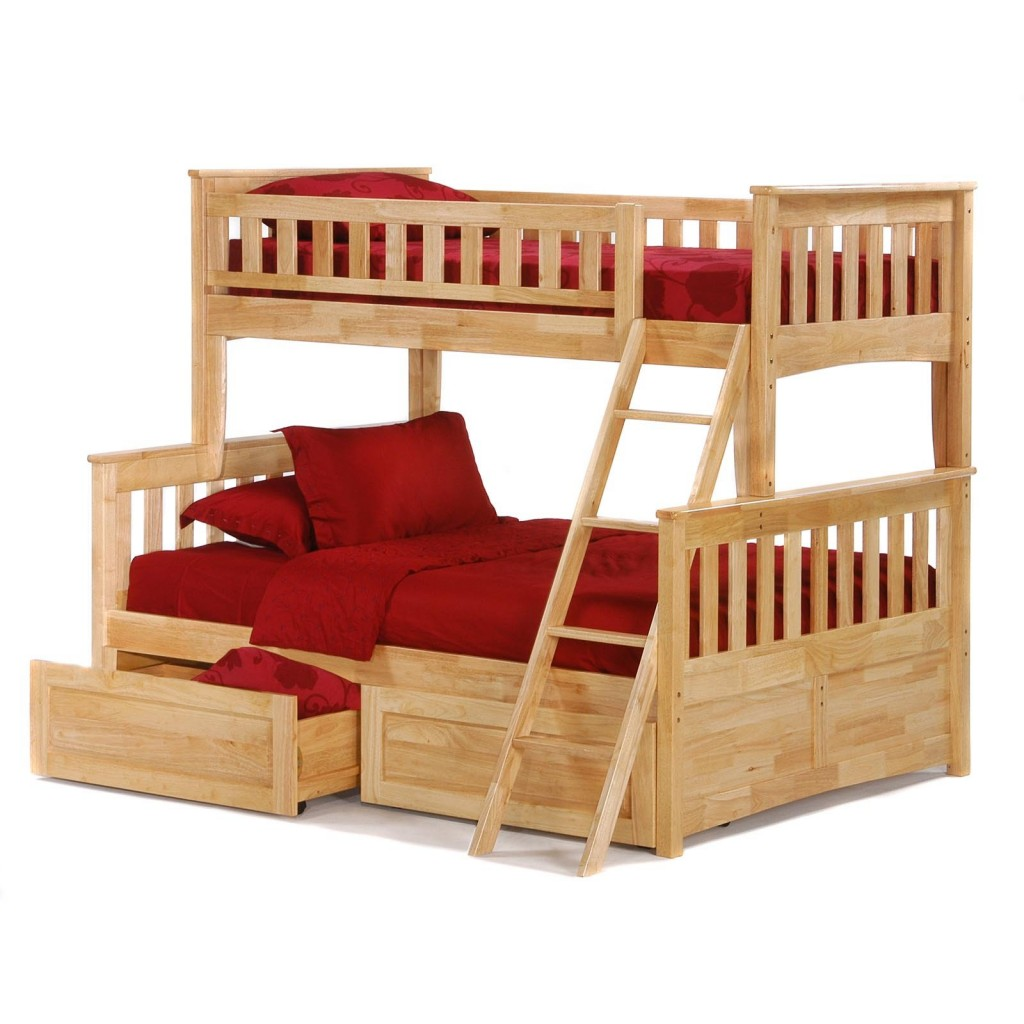 Twin Loft Bed Twin Over Full Bunk Beds - Beddings For Small Rooms