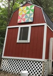 Chicken Coop Barn Quilt