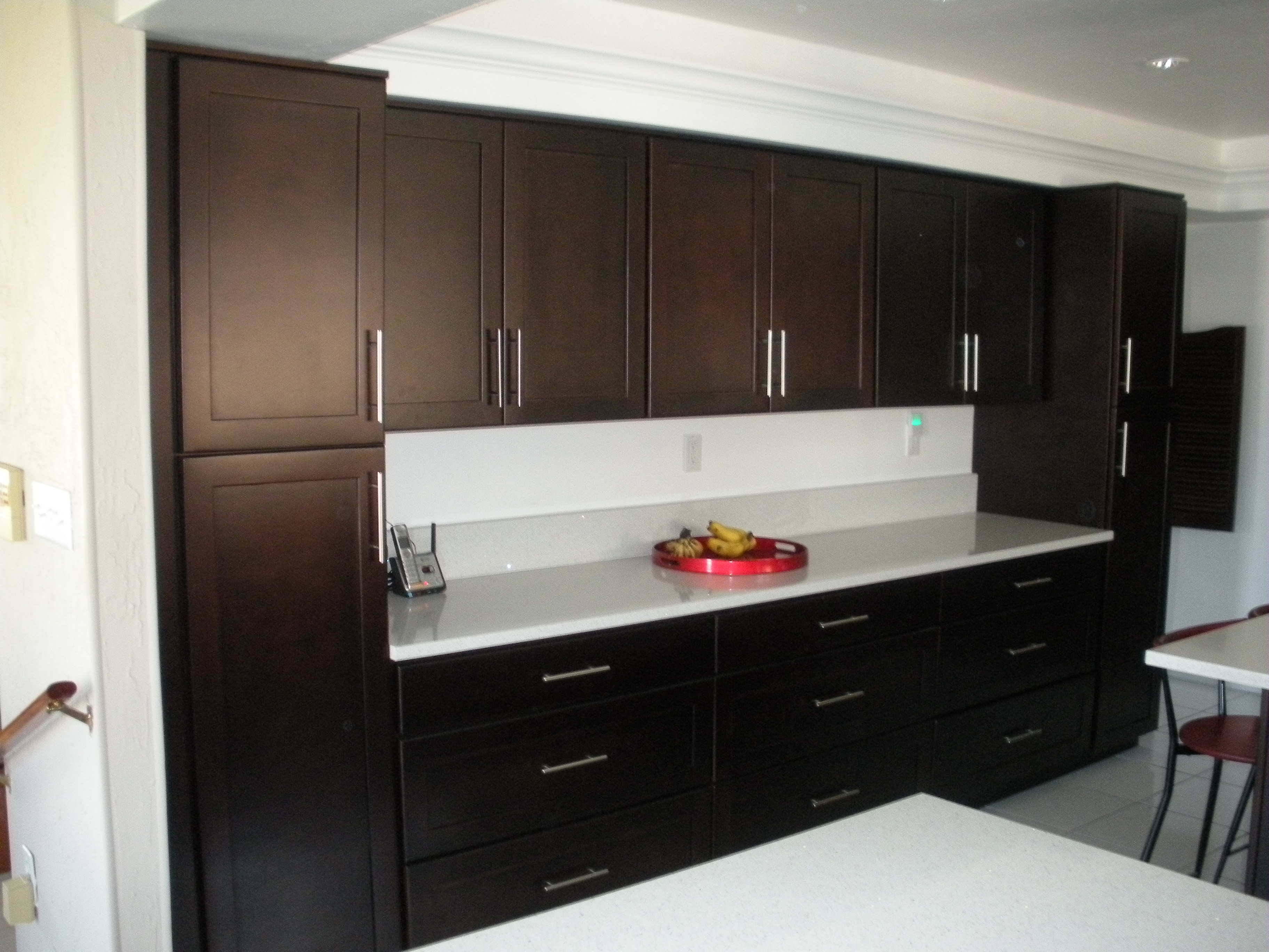 Cheap Kitchen Cabinets Miami Dark Kitchen Cabinets Stone International Espresso Cabinets