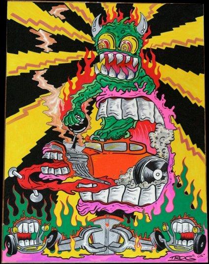 New Smoking Girl Wallpaper Trog S Marijuana Art Stoner Art