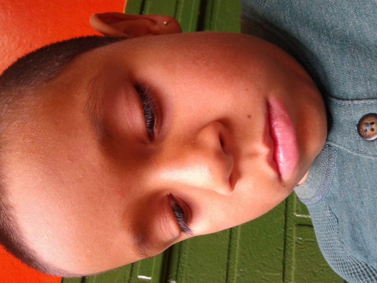 (untitled) Nathaniel Canon, Age 7, CA