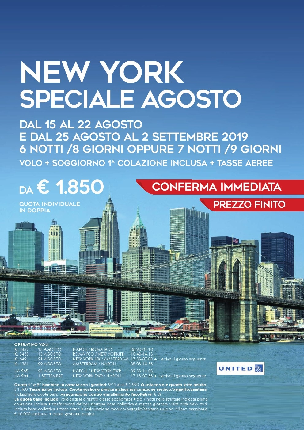 New York Soggiorno + Volo New York Agosto Stone Travel Stone Travel