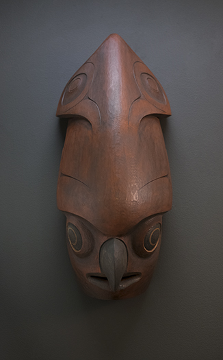 Wood Art Xpi Hutsul - Squid Mask - Stonington Gallery