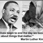 MLK Day Action: Darfur Matters