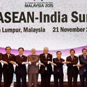Leaders of ASEAN at the 2015 summit in Kuala Lumpur