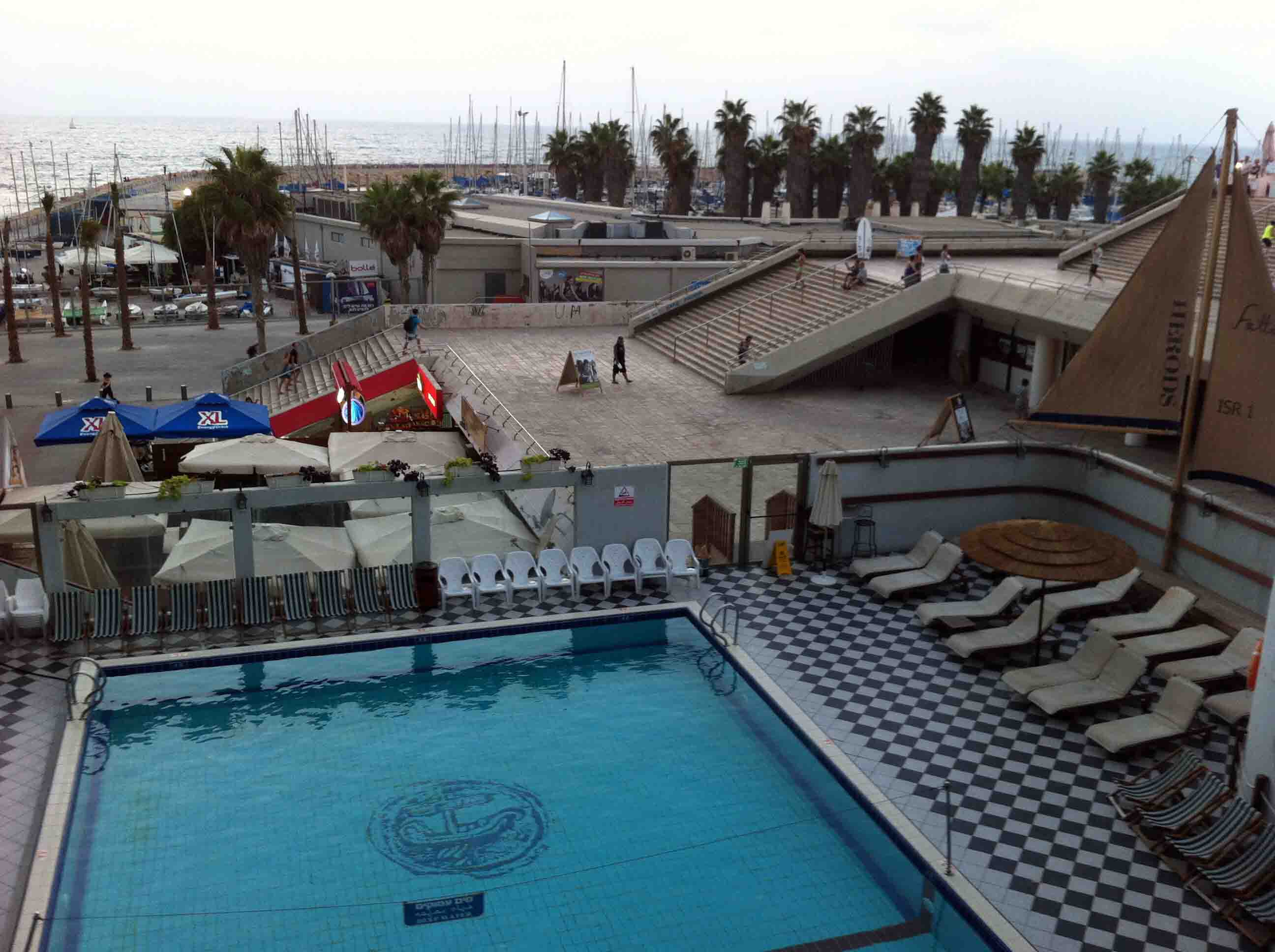 Hotel Tel Aviv Piscine Liliyot Restaurant In Tel Aviv Is Highly Recommended
